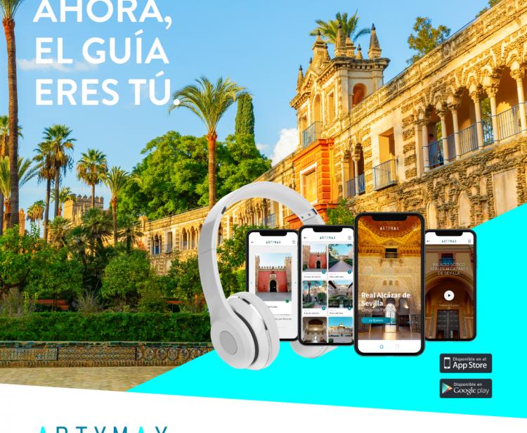 Virtual 360º Royal Alcazar of Seville experience on-line